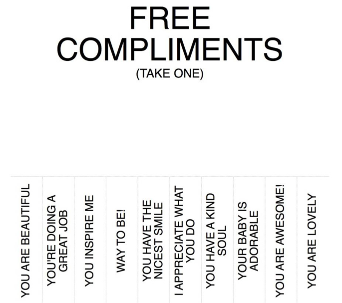 What to compliment a girl
